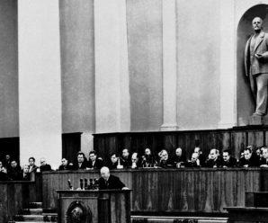 25 февраля 1956 года Хрущев выступил с обвинениями против Сталина