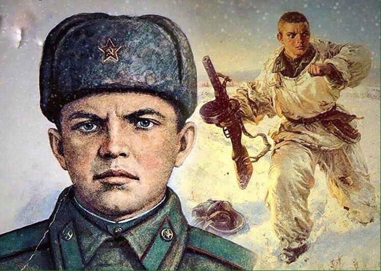 Советский герой Александр Матросов