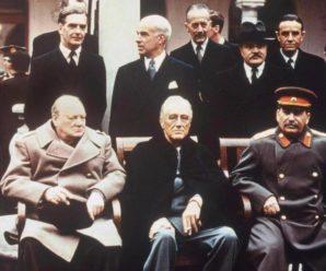 Значимое событие послевоенного периода — Ялтинская конференция