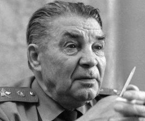 Командующий военно-воздушными войсками Василий Филиппович Маргелов