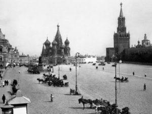 12 марта 1918 года Москве был возвращен статус столицы