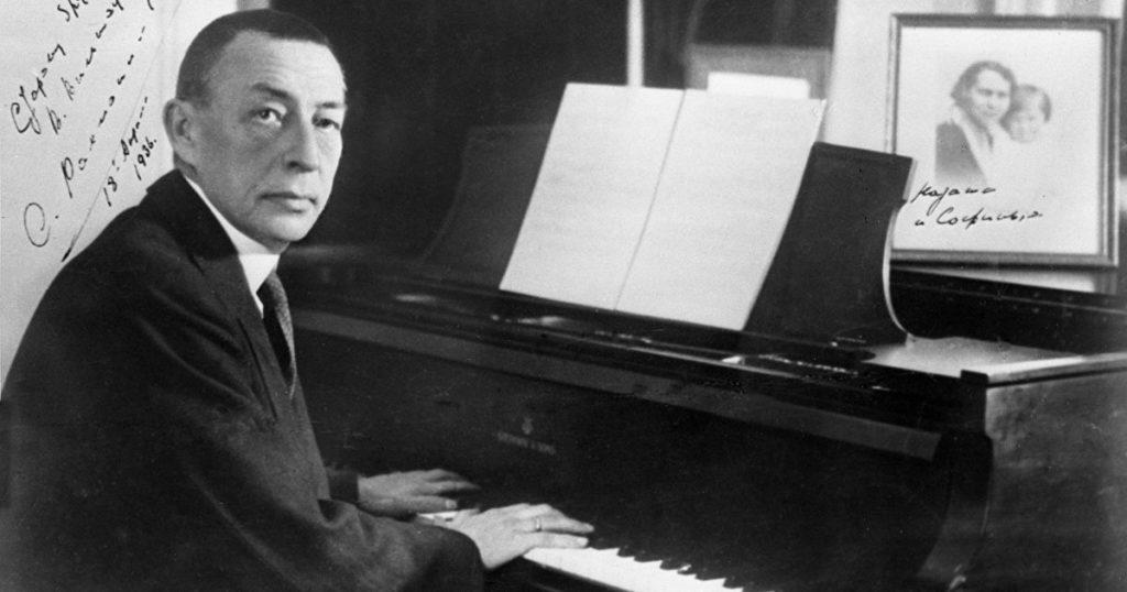 Русский композитор Сергей Рахманинов