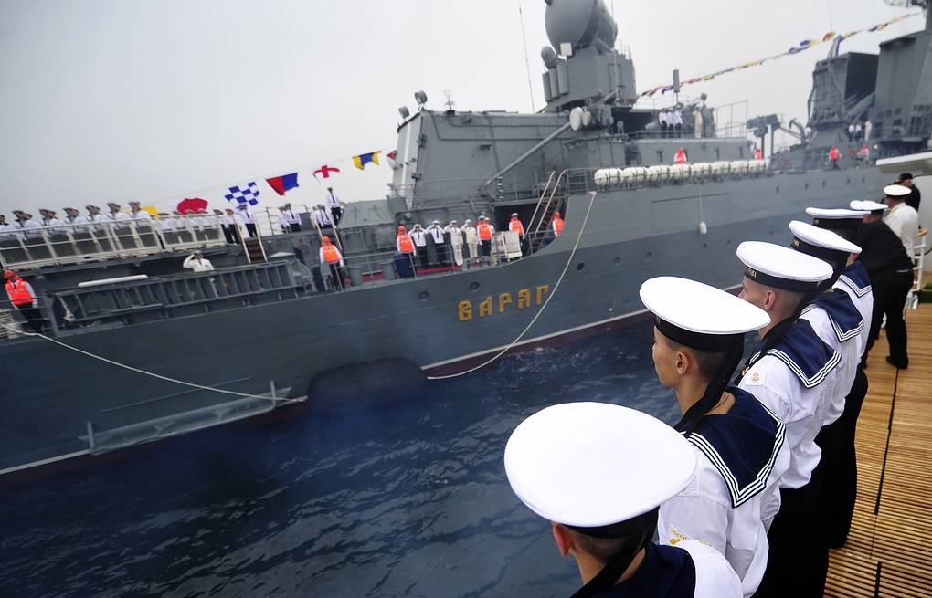 290 лет назад была положена основа Тихоокеанскому флоту России