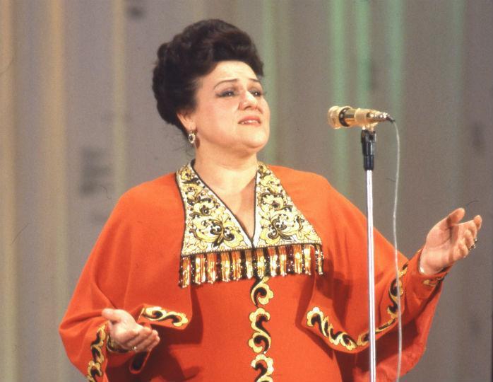 10 июня 1929 года родилась Людмила Георгиевна Зыкина