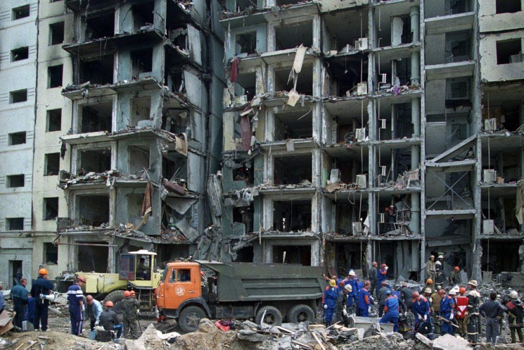Взрыв жилого дома в Волгодонске